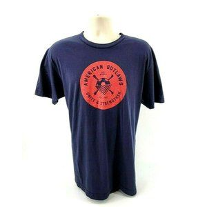 American Outlaws Mens T-Shirt American Apparel